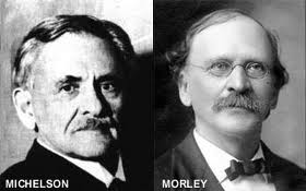 Albert Abraham Michelson y Edward Williams Morley