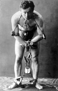 Harry Houdini en 1899