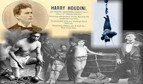 La magia de Harry Houdini
